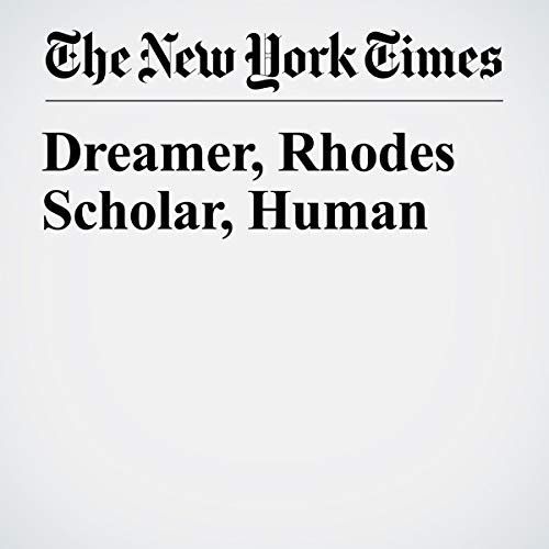 『Dreamer, Rhodes Scholar, Human 』のカバーアート