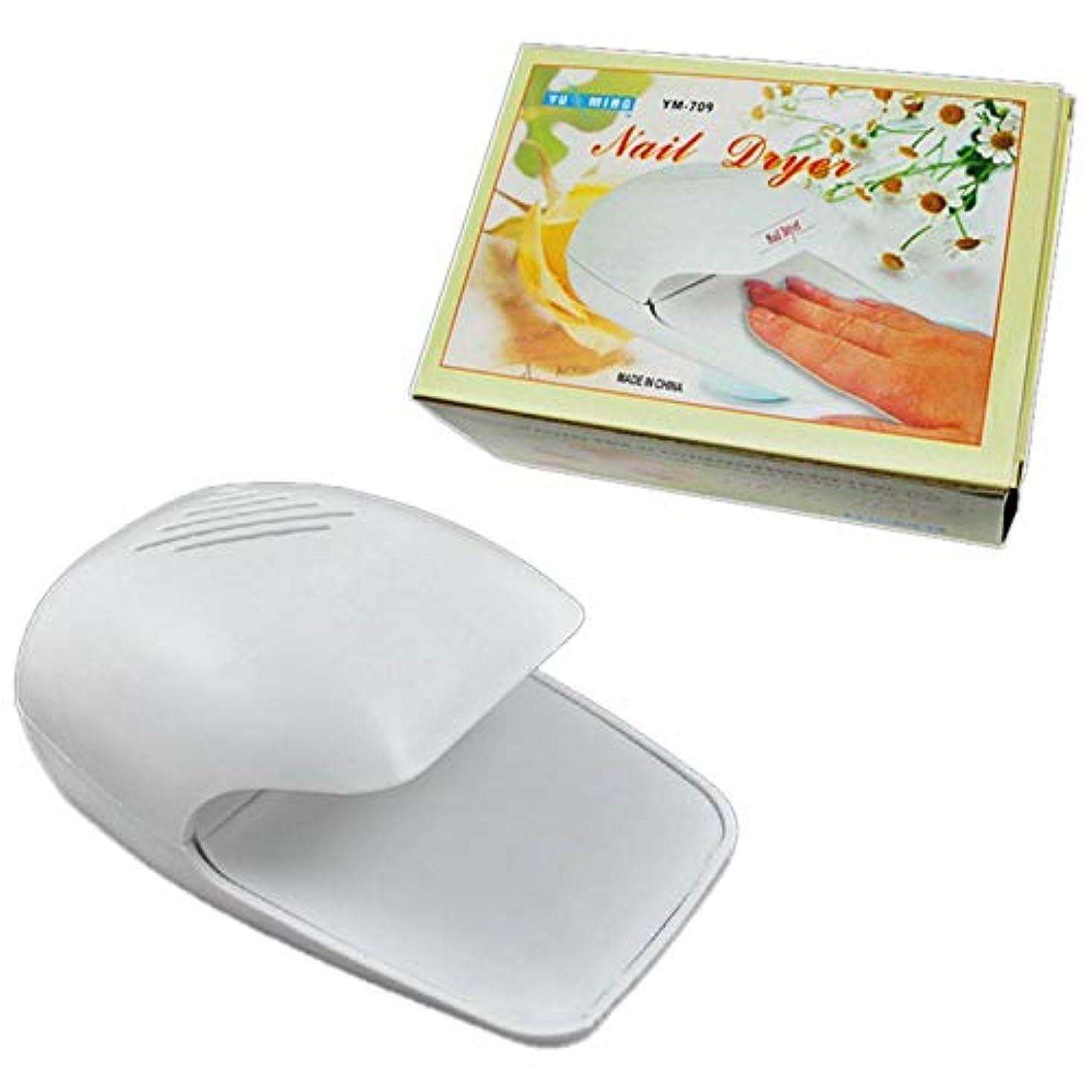 詳細に乳製品こしょうTOOGOO プロフェッショナルポータブルミニネイルドライヤー個人用マニキュアファッションデザイン硬化マニキュア小型ファンドライヤー