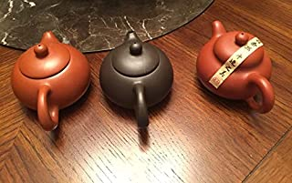 Beautifully crafted Yixing Tea Set buy three 4 oz tea pot best deal