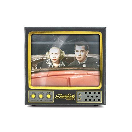 Telefoonscherm Vergrootglas – Retro Stijl XL 22.8 Centimeter TV Telefoon Vergrootglas – Mobiele Telefoon Film Scherm Met Stand, 2X Vergroting
