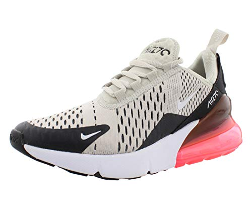 Nike Air Max 270 (GS), Scarpe Running Bambino, Multicolore (Light Bone/White-Bla 002), 37.5 EU