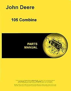 Parts Manual John Deere 105 Combine pc746