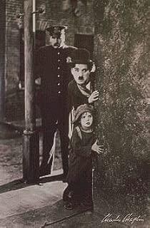 Charlie Chaplin 24x36 Movie Poster The Kid Around The Corner