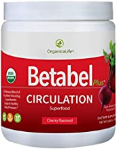Betabel Plus Circulation Superfood   Organic Blend Infused with Organic Beet Powder Formulated to Support Healthy Blood Pressure Levels and Overall Cardiovascular Health - 8.06 Oz - 30 Day Supply.