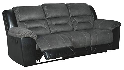Signature Design by Ashley Earhart Reclining Sofa Slate
