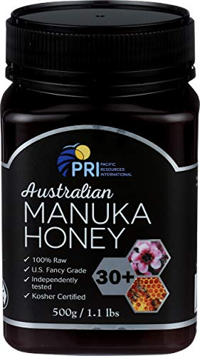 Pacific Resources, Honey Australian Manuka 30 Plus, 500 Gram