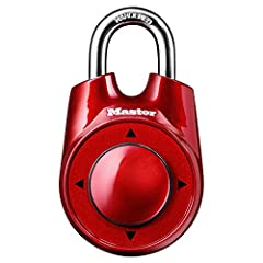 Indoor padlock is best used as a school locker lock and gym lock, providing protection and security from theft Set your own directional combination lock for speed and easy combination recall; for combo reset instructions, refer to the user guide in t...