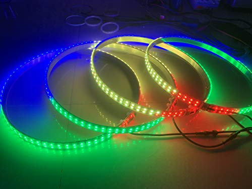 Sando NOT 1 Set (After-Sales) Dream Chasing Color LED Double Raw Wheel Ring Light Bluetooth Control for 1 Light