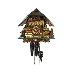 August Schwer Cuckoo Clock Little Black Forest House 1.0312.01.C
