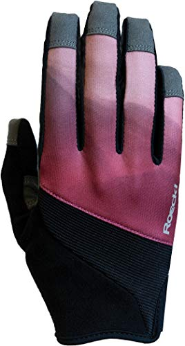 Roeckl Maira Youngsters Kinder Fahrrad Handschuhe lang rot/schwarz 2020: Größe: 5