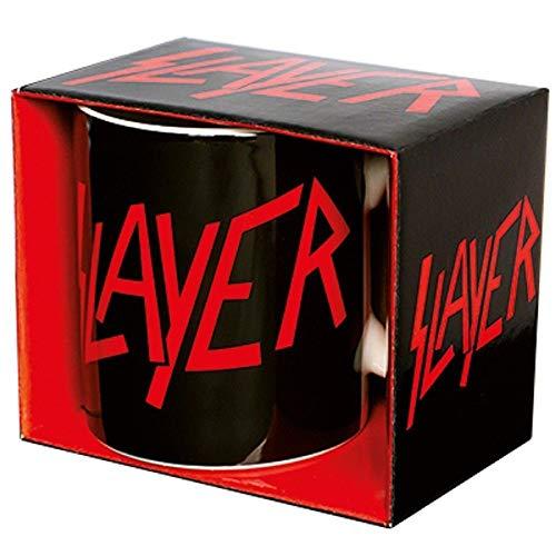 for-collectors-only Slayer Tasse Kaffeetasse Logo Metal Becher Trinkbecher Mug