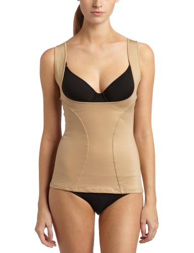 Maidenform Flexees Women's Shapewear Wear Your Own Bra Torsette, Body Beige, Medium