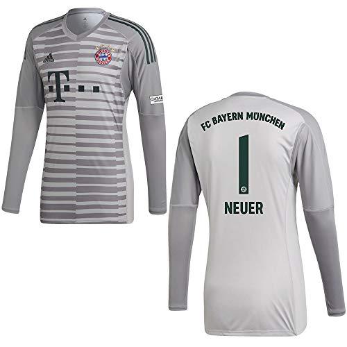 adidas FC Bayern Trikot Torwart Herren 2019 - Neuer 1, Größe:L