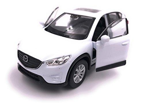H-Customs Welly Mazda CX 5 Model Car Auto PRODOTTO CON LICENZA 1: 34-1: 39 Bianco