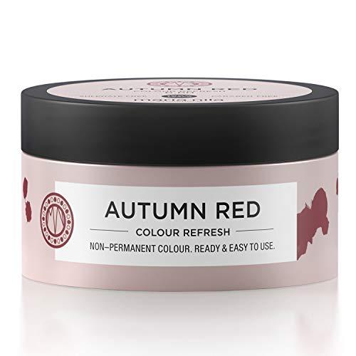 Maria Nila Colour Refresh - Autumn Red 100ml | Eine revolutionäre Farbmaske für mittelbraunes und dunkles Haar, MN-4702