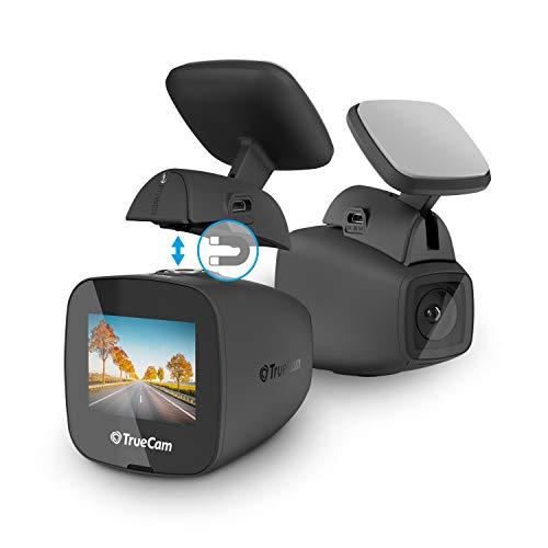 TrueCam H5 Full HD Dashcam Auto Kamera - Videoregistrator Für Auto - Full HD 1080P Autokamera Dash Cam mit Wi-Fi, Nachtsicht, G-Sensor, GPS (optional), Bewegungserkennung & Loop Videoaufzeichnung