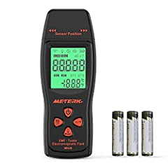 ▲EMF Meter Function - Testing the magnetic field for home use mainly. ▲Measure Radiation - of TV, induction cooker, rice cooker, refrigerator, computer, for low-frequency home appliances, electrical wires, etc. ▲Sound-light Alarm * When the test resu...