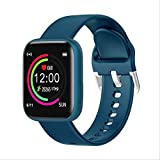 ZHOUMEI Práctico Inteligente watchWomen Reloj Elegante 1.4inch IPS Pantalla táctil Completa Control de Las pulsaciones IP67 a Prueba de Agua rastreador de Ejercicios Relojes del Reloj (Color: Rosa)
