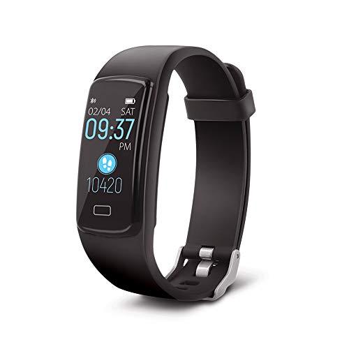Forever Fitness Armband,Smartwatch Band mit 4 Trainingsmodi, Pulsmesser, Schrittzähler, Kalorienzähler, Sportuhr für Damen Herren, Wasserdichte, für iOS Android Handy Tages Activity Tracker