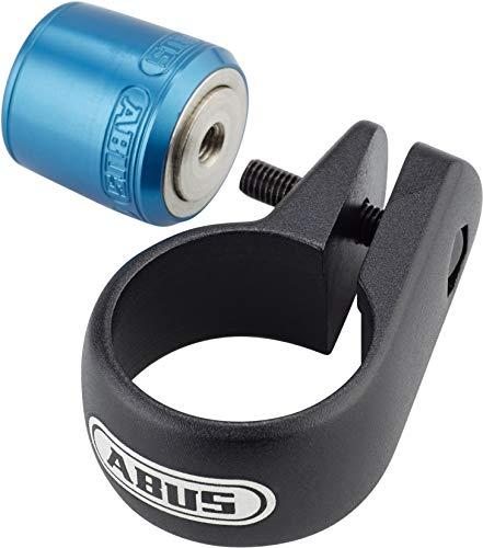 Abus Unisex– Erwachsene Nutfix M5 Spc Diebstahlsicherung, Blue, Ø 31,8 mm
