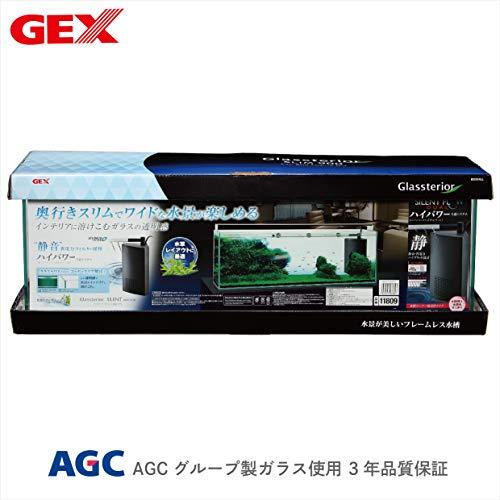 ジェックス グラステリアサイレント900スリム 静音フィルター付