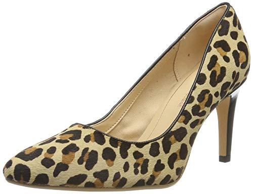 Clarks Laina Rae, Stivaletti Donna, Multicolore (Leopard Print Leopard Print), 37.5 EU