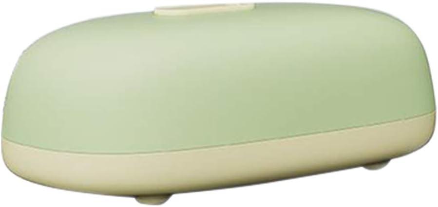 naack Fiambrera Electrica para el Trabajo, Comida térmico Lunch Box Fiambreras bento 2 en 1 Dos Compartimentos. Salida de Vapor. Comida Caliente en 3 Minutos. Verde y Amarilla