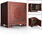 BLLXMX Safe Box |Digital Lock Box Safe |60X44X54Cm | Home Combination Electronic Steel Safe with Keypad | 2 Manual Override Keys | for Home, Business or Travel (Color : B)