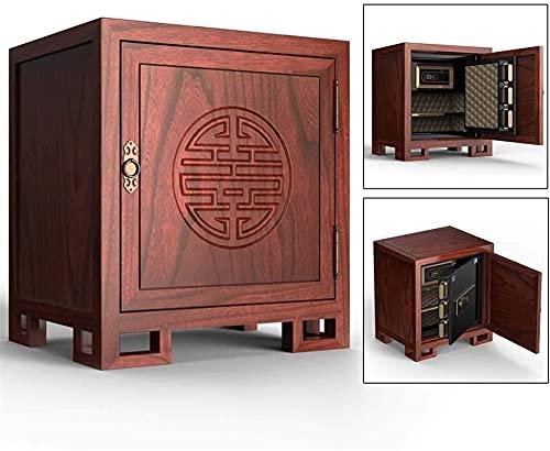DJDLLZY Caja Fuerte   Digital Lock Caja Fuerte   60X44X54Cm  Inicio Acero de la combinación de Seguridad electrónica con Teclado  2 Teclas de modificación Manual  para el hogar, Viajes de Negocios o