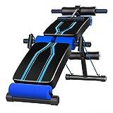 GFFTYX Adjustable Workout Utility Hantelbank Einstellbare Sitzbank Slant Board - Klappbare Absenkbank mit Reverse-Crunch-Griff for das Heim-Fitnessstudio -