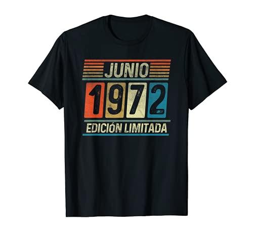 Junio 1972 Vintage - 49 años Regalo Cumpleaños Hombre Camiseta