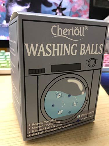 Bola de lavado, bolas de eliminación de pelusa para lavar la ropa, bolas de lavado de ropa, secador de pelo de mascotas removedor de pelusa para ropa sucia, bolas de secado reutilizables