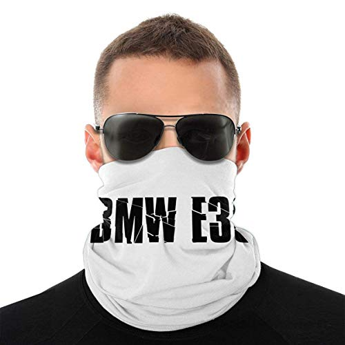 TUCBOA Headband,M Sport B-M-W E36 M3 Fast Race Car Drift Sport F1 Magic Headband, Headwears Suave 12 En 1 para Escalada, Senderismo,25x50cm