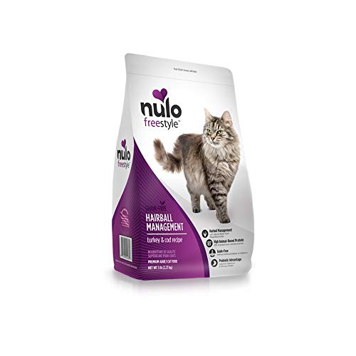 Nulo Grain Free Dry Cat Food - Hairball Management