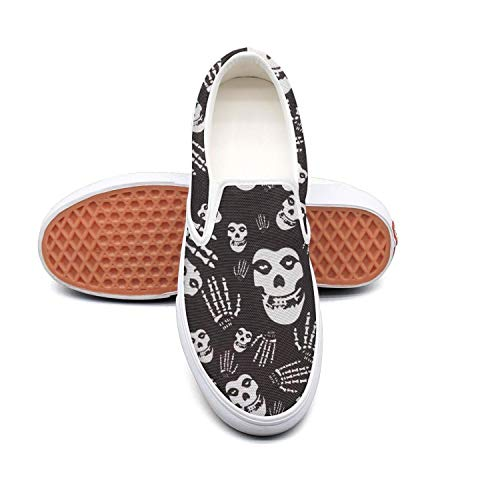 Tennis Shoes for Women Skull-Misfits-Ghost-Punk-Gothic- Comfortable Best Running Shoes