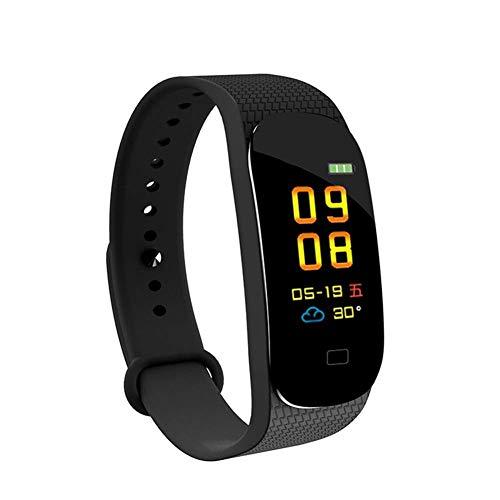 Cajolg Fitnesstracker, IP67 waterdicht, met bloeddruk, hartslag, calorieën, stappenteller en andere functies, ondersteunt meerdere talen, dames en heren fitness armband horloge groen