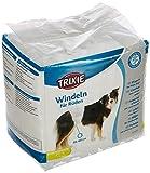 Trixie 23642, Pannolini a fascia per cani maschi, M-L (46-60 cm), un pacco con 12 pezzi