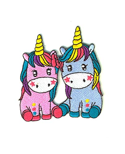 SET PRODUCTS  Parche Termoadhesivo de Unicornio - Iron-on Patches para Personalizar su Ropa o Bolsos - CREA tu Propio Estilo! - Varios Modelos Disponibles