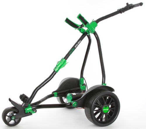 GreenHill - Elektro-Golfcarts in - schwarz / grün, Größe 18 hole battery