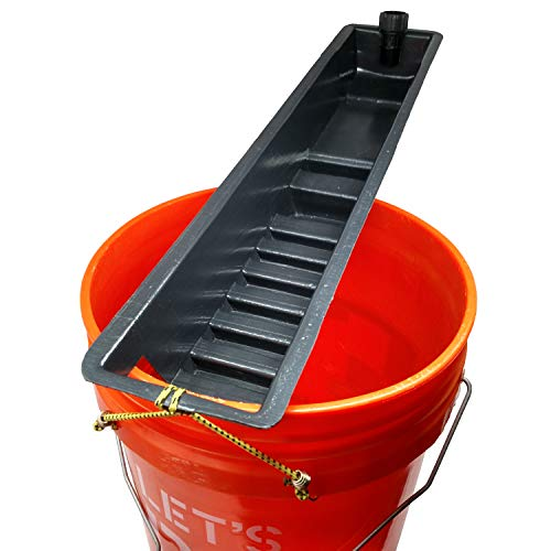 Glory-Hole Clean Up Sluice Gold Recovery Bucket Sluice Concentrator