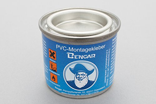 Bengar PVC Kleber + Kleberverdünner Schlauchboote aus PVC Bootshaut