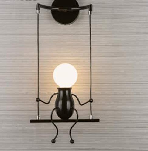 kreativ kleine Kinderwandleuchten für Kinderzimmer Wohnzimmer Schlafzimmer Nachttischlampe Korridor Gang Treppe Balkon 110v_1_kopf