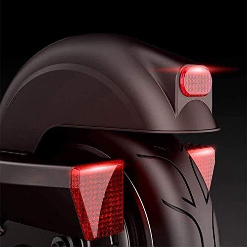 CDGC Scooters para Adultos Scooter eléctrico con Alto Rendimiento, 34 mph, Velocidad máxima, Soporte Plegable y portátil, Control de Crucero y Carga USB