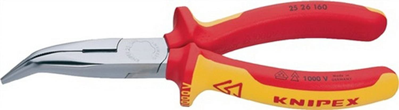Storchschnabelzange L.160mm Chrom gebogen gebogen gebogen 45Grad KNIPEX mit 2Komp.-Hüllen B00VWMBOT6  Neuer Markt a4d717