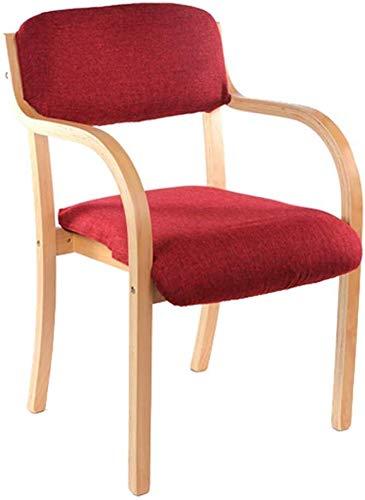 QJY Stabiler Holzbeine Speisezimmer Wohnzimmer Dressing Stuhl Sessel Stuhl Wohnzimmer mit hohen...