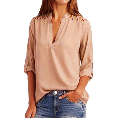 SMARTLADY Blusas de Mujer 2017 (M, Rosa)