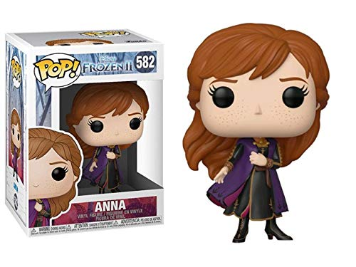 Funko - Pop! Disney: Frozen 2 - Anna Figurina, Multicolor (40886)