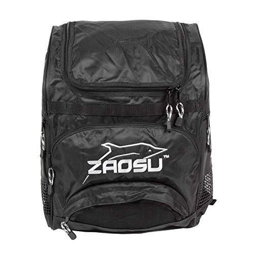 ZAOSU Teamline Rucksack fürs Training im Schwimmen und Triathlon - 40 Liter, Farbe:Silber