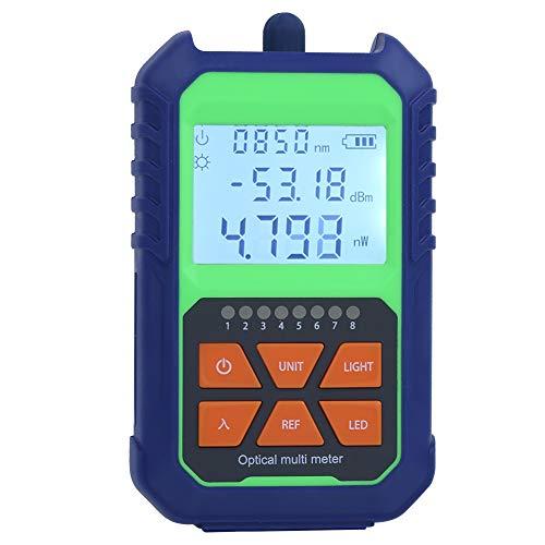 Medidor de potencia óptica, medidor de fuente de luz de estabilidad de...