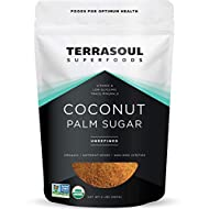 Terrasoul Superfoods Organic Coconut Sugar, 2 Lbs - Low Glycemic   Unrefined   Trace Minerals